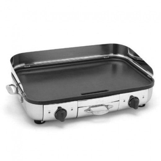 Stainless Steel Electric Griddle Clean Attractive And
