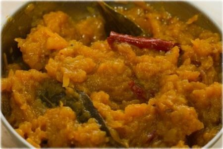 Kohra ka khatta Mitha (Sweet and Sour Pumpkin)