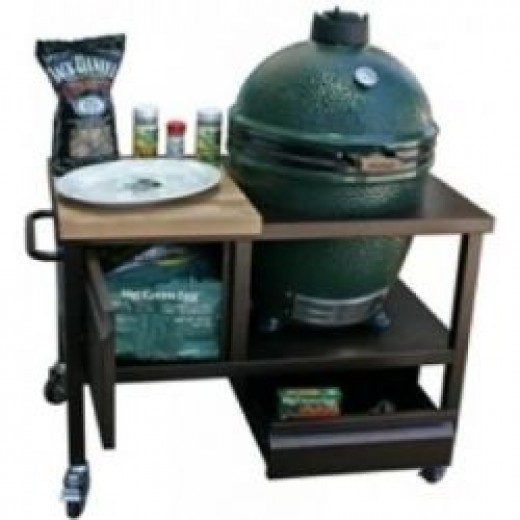 Big Green Egg Smoker