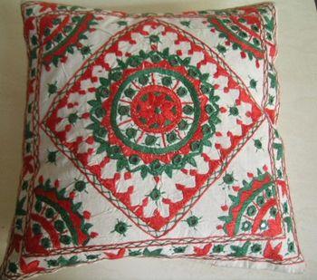 Shisha work pillow