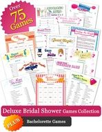 Wedding Shower Game Pack