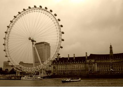 Millenium wheel, photo by ashroc