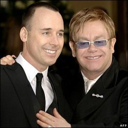 Elton John Wedding