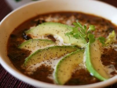 Vegan Miso Couscous Soup