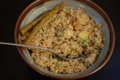 Quinoa Avocado Sesame Chirashi Salad Recipe