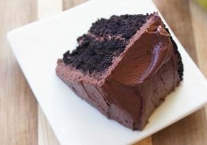 Gluten free quinoa chocolate cake