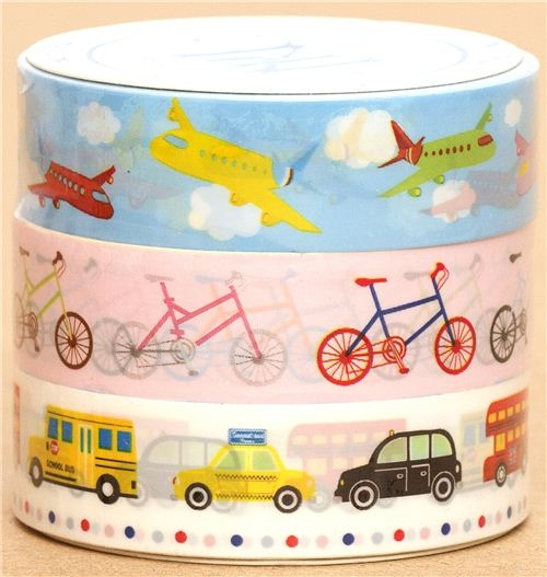 Scotch-Tape-set-with-Airplanes-Bikes-and-Cars