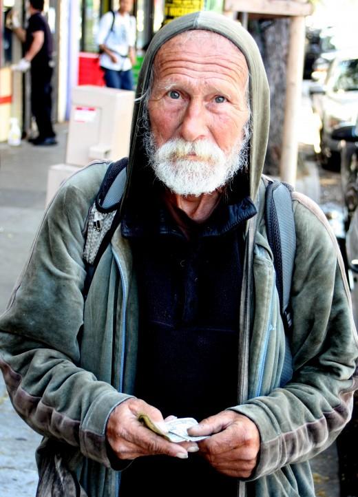 Haight Street Man deedsphoto
