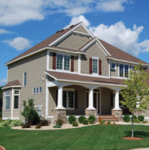 Modern Craftsman Style Home