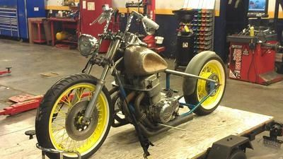 cb750 bobber project
