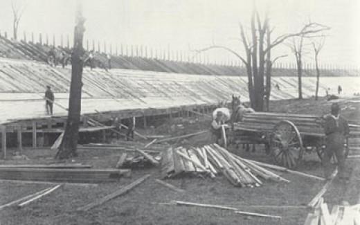 board track construction