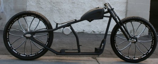 super custom board track racer rolling chassis