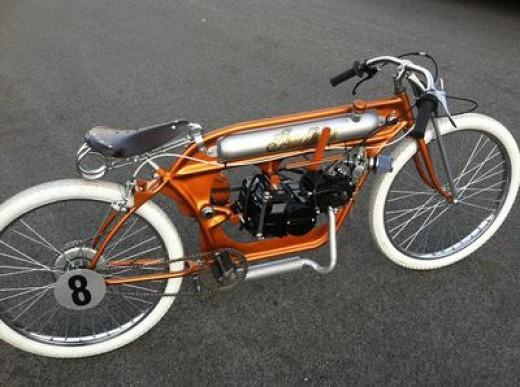 Custom made board track racer