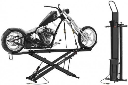 stand up motorcycle lift