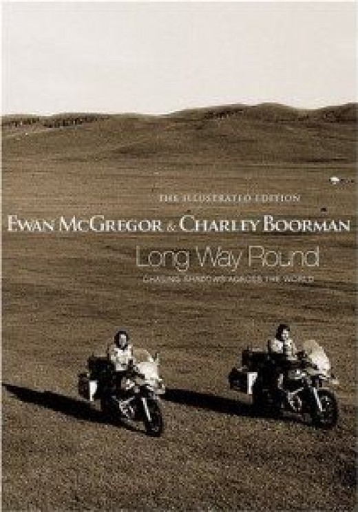 long way round motorcycle travel book