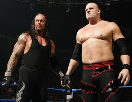The Undertaker And His Half Brother Kane.