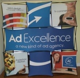8 Foot Portable Popup Trade Show Display