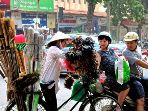 Street Shopping in Hanoi