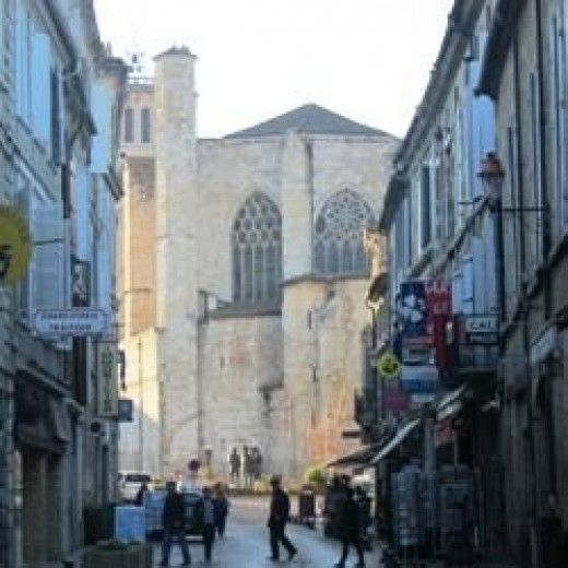 St. Pierre Cathedral in Condom France