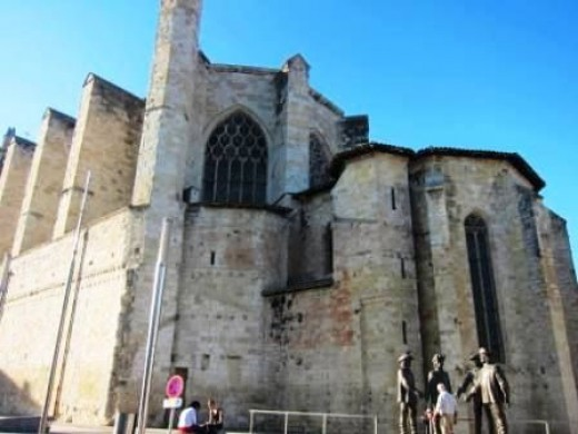 The Cathedral of St. Pierre in Condom France