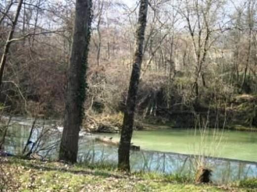 Rural France River
