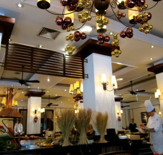 World Cuisine in Restaurant