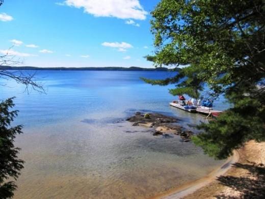 Lake in the Muskokas