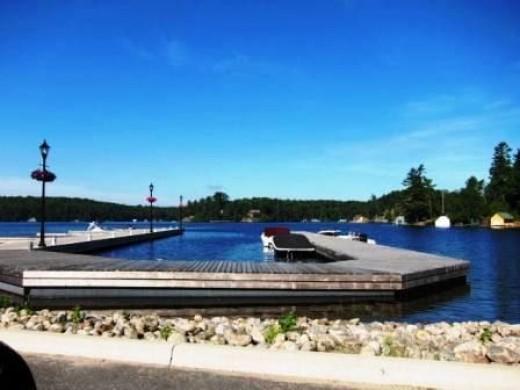 Boat Slip in Rosseau