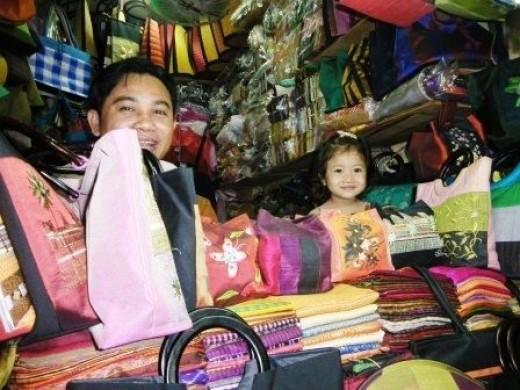 Sellers in Phnom Penh