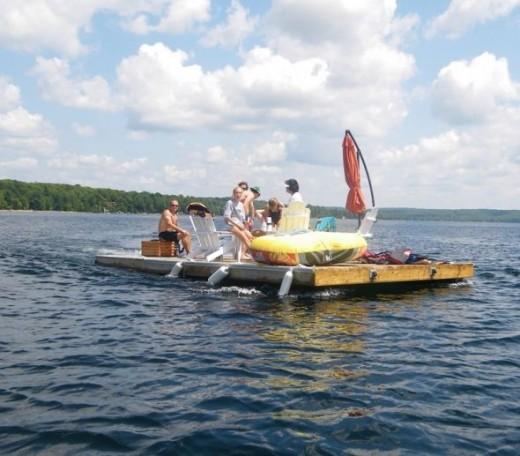 Summer Floating Dock