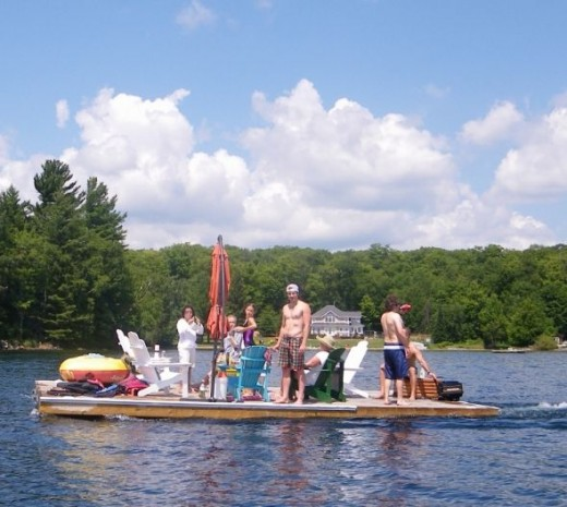Floating Dock Summer Cruise