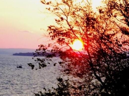 Independence Beach Sunset
