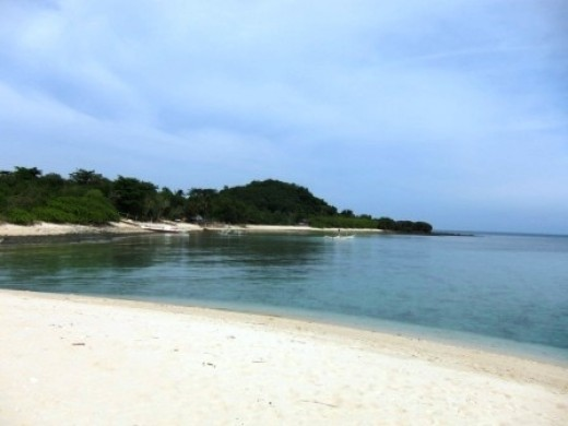The Stretch of White Beach in Concepcion