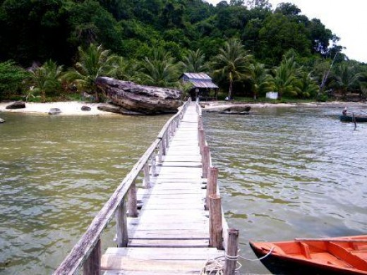 Beaches in Islands in Sihanoukville