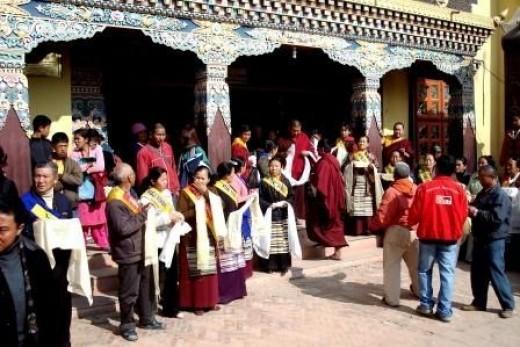 Boudanath, Kathmandu, An Asian Buddhist Enclave