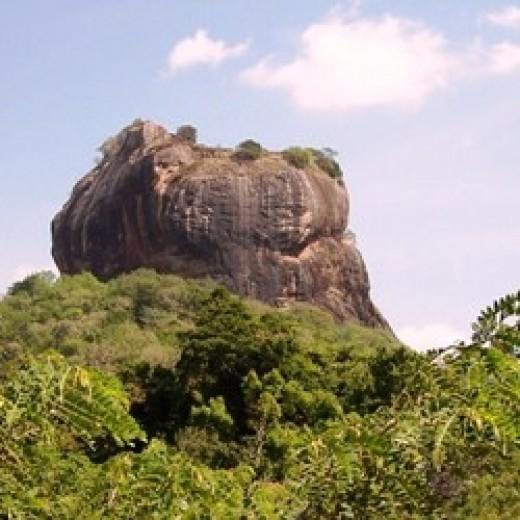The Fortress at Sigiriya