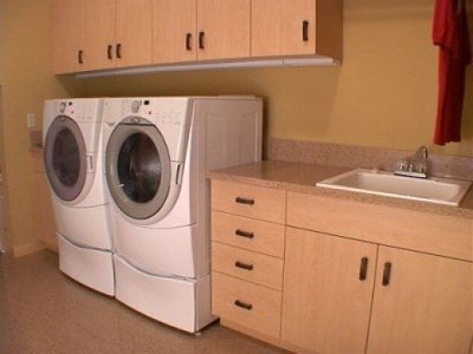 Example of Practical Laundry Room Cabinets
