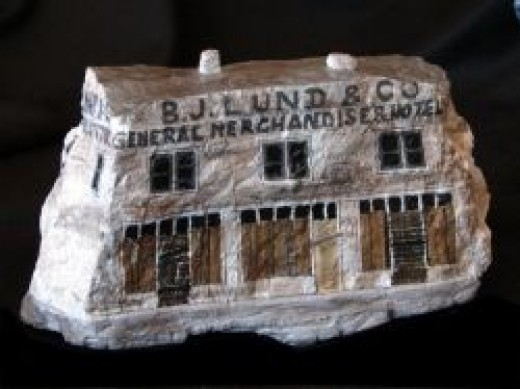 Abandoned building in Modena, UT.
