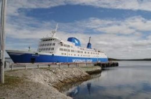 The Apollo ferry.