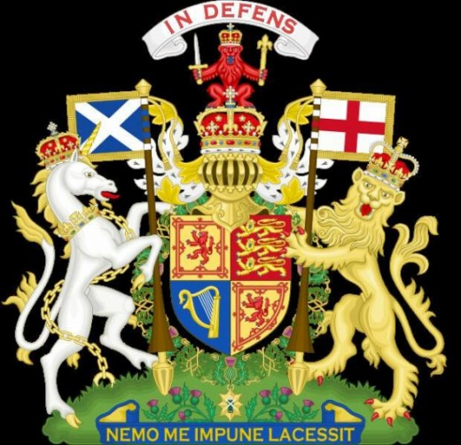 Royal Coat of Arms for use in Scotland