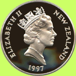 New Zealand 20$ coin