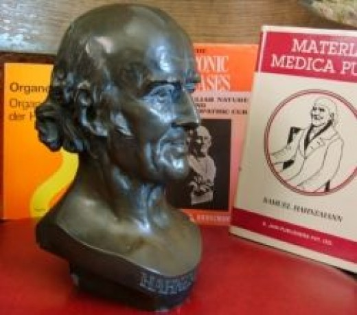 Hahnemann and his books