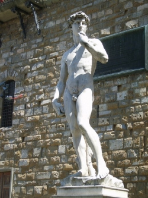 Italy - David replica in Firenze