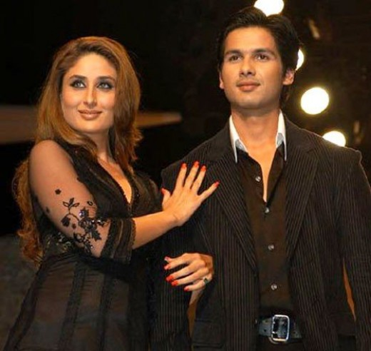 Shahid's most famous affair so far was with Kareena Kapoor. The two met on the sets of Fida and instantly hit it off. They've done a number of films together and were a couple for three years, till Kareena started finding Saif Ali Khan a bit more int
