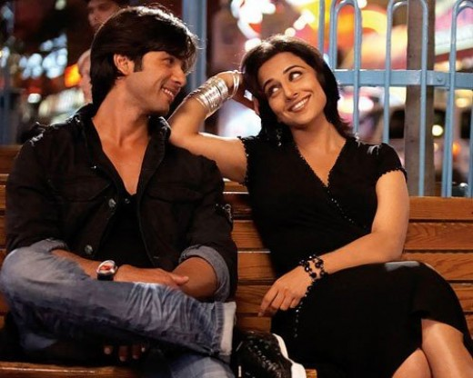 Shahid's friendship with Vidya Balan around the time of Kismat Konnection was also rumoured to have a romantic tinge. However, both actors denied this.