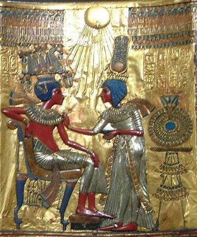 Tutankhamun's Golden Throne