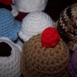 Crochet Cupcake Patterns