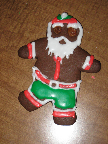 Gingerbread Santa Is Coming To Town