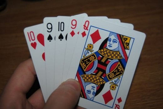 This hand is garbage. There's nothing you can do here. Pass.