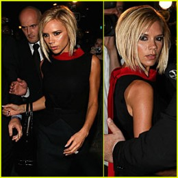 "Victoria Beckham "" Posh Spice "" at Paris Fashion Show Week Events"
